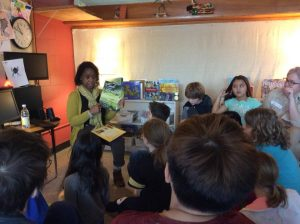 District Superintendent Bonnie Johnson-Aten Reads to SA Children