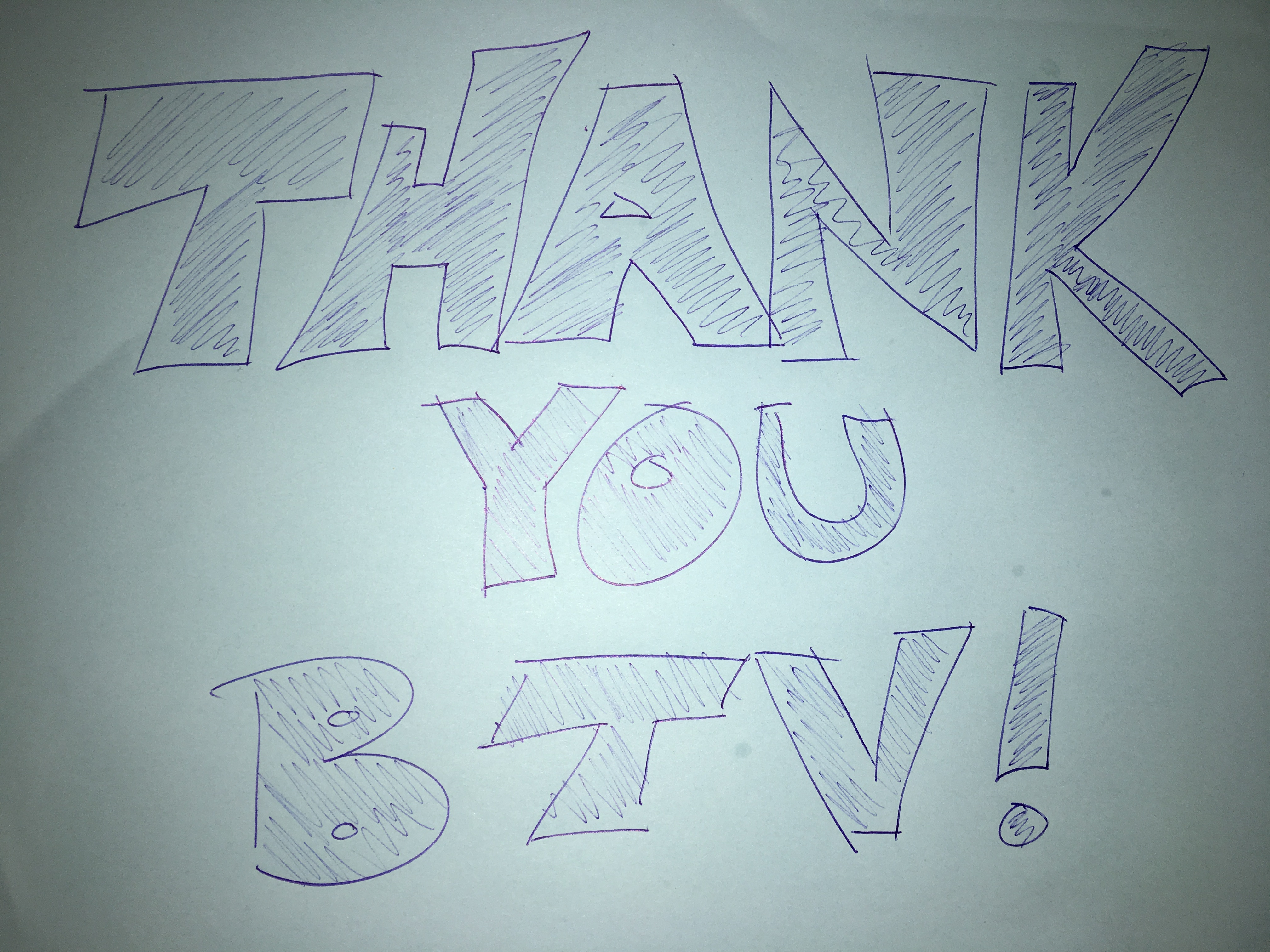 Thank you BTV